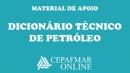 Dicionário Técnico de Petróleo